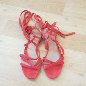 Madewell Lace Up Sandal